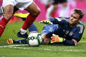 Neuer trở lại, Đức vẫn thua sốc Áo