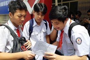 Đáp án nhanh đề thi Toán lớp 10 TPHCM