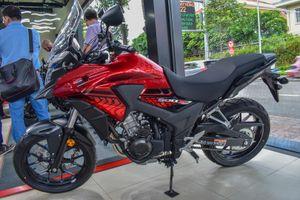 'Soi' mẫu adventure tầm trung CB500X giá 180 triệu đồng tại Việt Nam