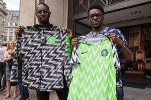 World Cup 2018 - Lượm lặt bên lề: 'Cháy' áo đấu của tuyển Nigeria