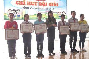 Hội thi 'Chỉ huy Đội giỏi' cấp tỉnh Cà Mau: Ghi nhận sự trưởng thành của các liên, chi đội