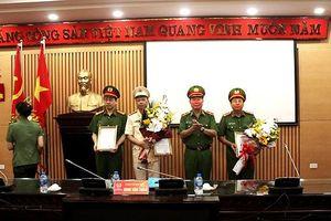 Bổ nhiệm các chức danh tư pháp Cơ quan Cảnh sát điều tra Công an thành phố Hà Nội