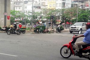 Công an phường Thịnh Quang cần xử lý nghiêm các vi phạm trật tự đô thị trên địa bàn