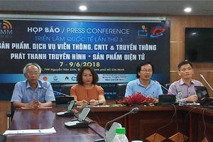 Khởi động triển lãm quốc tế Vietnam ICT COMM 2018