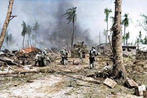 Ảnh màu độc về chiến trường Thái Bình Dương thời Thế chiến II (1)
