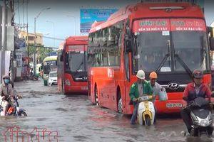 TP Hồ Chí Minh loay hoay với bài toán 'ngập chồng ngập'