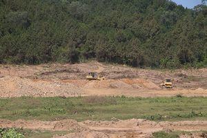 Dự án nghìn tỷ lén lút san ủi mặt bằng ở Nghệ An: Chính quyền xử phạt... 3 triệu đồng