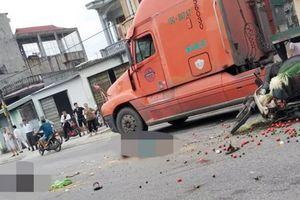 Hải Dương: Va chạm với xe tải, 2 vợ chồng tử vong