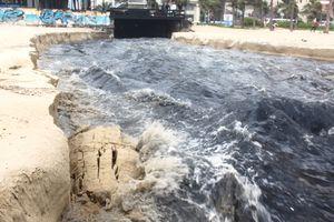 Đà Nẵng: Lắp đặt máy lược rác tự động ở cửa biển