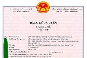 OIC new - Bằng độc quyền sáng chế được bảo hộ tại Việt Nam