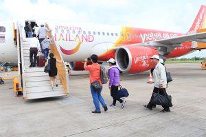 Khách đông, tăng chuyến bay Cần Thơ- Bangkok