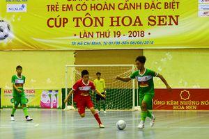 Hà Nội vô địch giải bóng đá futsal trẻ em có hoàn cảnh đặc biệt