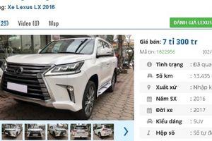 Những chiếc ô tô cũ này đang rao bán giá cao 'ngất ngưởng' 7 tỷ đồng tại Việt Nam