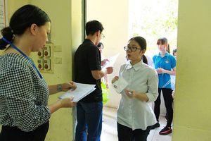 Đề môn ngữ văn vào lớp 10 tại Hà Nội bị lọt ra ngoài