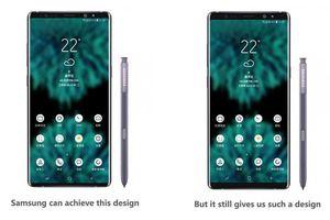 Galaxy Note 9 sẽ giữ nguyên thiết kế của Note 8
