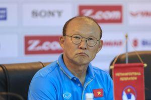 Tuyển Việt Nam chưa thể hoàn thành mục tiêu của HLV Park Hang-seo