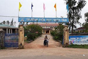 Sai phạm tài chính, Hiệu trưởng trường Tiểu học Triệu Vân bị cách chức