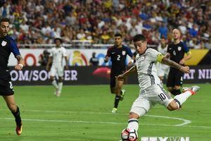 Colombia và 'bài toán' tìm lại phong độ cho James Rodriguez