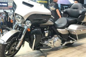 Chiêm ngưỡng siêu môtô đắt nhất của Harley Davidson tại AutoExpo 2018