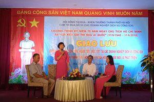 Sôi nổi các hoạt động kỷ niệm 70 năm Ngày Chủ tịch Hồ Chí Minh ra 'Lời kêu gọi thi đua ái quốc'