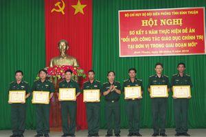 Công tác giáo dục chính trị tại BĐBP Bình Thuận có chuyển biến tích cực