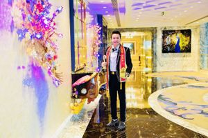 Nam vương Trương Huy Hoàng làm đại sứ danh dự cho chương trình ' Đại Dương Xanh'
