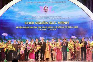 Thành phố Hà Nội tích cực hưởng ứng, thực hiện hiệu quả Lời kêu gọi thi đua ái quốc của Chủ tịch Hồ Chí Minh