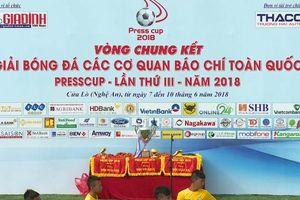 Tường thuật bán kết VCK Presscup 2018: Đài truyền hình Việt Nam - Đài tiếng nói Việt Nam