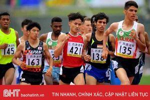 VĐV Hà Tĩnh giành huy chương Giải Điền kinh trẻ châu Á lần thứ 18