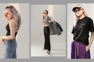 Thiều Bảo Trâm khoe gu thời trang đỉnh cao trong bộ ảnh tự mình stylist