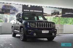Ngắm tận mắt phiên bản nâng cấp Jeep Renegade 2019