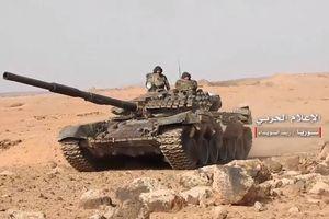 Quân đội Syria tung đòn truy diệt IS trên hoang mạc Suwayda