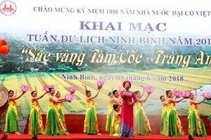 Ninh Bình: Khai mạc Tuần Du lịch 2018 - 'Sắc vàng Tam Cốc - Tràng An'
