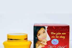 Cận cảnh loạt mỹ phẩm bị thu hồi của Công ty TNHH Hoa Việt