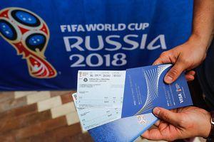 120.000 vé xem World Cup 2018 bán hết sạch trong vài giờ