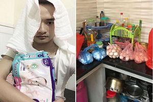 Bố 9X ở Sơn La `méo mặt` vì nhận 400 quả trứng gà mừng vợ sau sinh