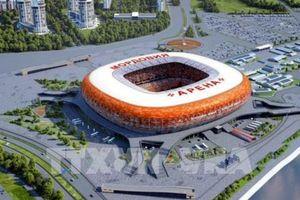 Nước Nga sẵn sàng đón ngày hội bóng đá thế giới World Cup 2018