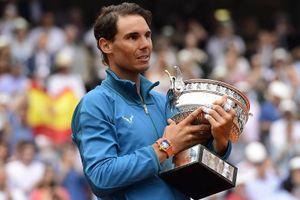 Thiem 'hăm' không ngăn được Nadal 'băm'