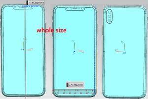 Lộ bản vẽ thiết kế iPhone X Plus với 3 camera sau