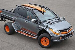 Mitsubishi Triton độ khác thường 'góp mặt' trong Fast & Furious