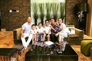 Hot Face sao Việt: Gia đình Hồng Ngọc thăm biệt thự của Mr Đàm