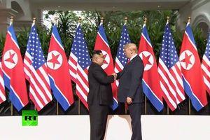 TRỰC TIẾP hội nghị thượng đỉnh Mỹ-Triều: Cuộc gặp lịch sử giữa ông Trump và ông Kim Jong-un
