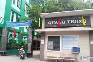 Trường Quang Trung bắt học sinh học phụ đạo mới phát phiếu dự thi tốt nghiệp