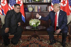 Ông Kim Jong-un: 'Thế giới ngỡ khoảnh khắc này như bộ phim viễn tưởng'