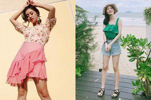 Thời tiết mưa nắng thất thường, loạt quý cô thời trang vẫn khoe street style ''đẹp hết sảy''