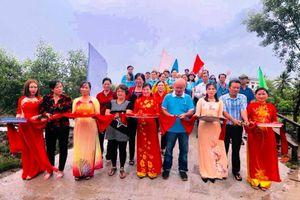Cà Mau: Khánh thành 2 cây cầu tình thương ở xã Đất Mũi