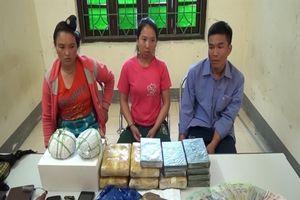 3 đối tượng vận chuyển 31.000 viên ma túy sa lưới