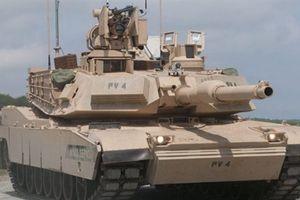 Tăng Abrams trang bị Trophy gầm thét sát Nga