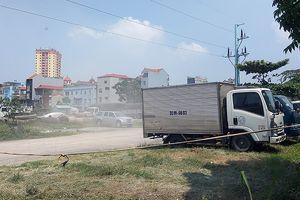 Sau xử phạt, bãi xe không phép tại dự án Văn La vẫn ngang nhiên tồn tại