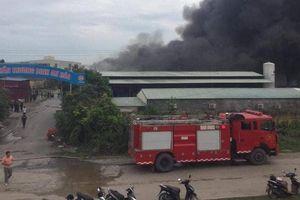 Hỏa hoạn thiêu rụi gần 1.000 m2 nhà xưởng